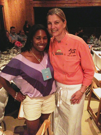 Meeting one of my culinary heroes, chef Mary Sue Milliken