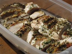 Chicken breasts grill in under 7 mins on the panini press!