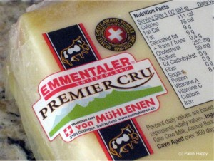 Click here to read my post about Emmental cheese