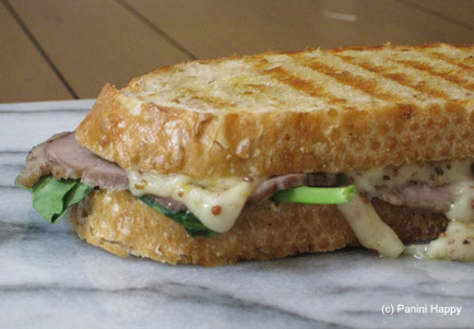 Red Dragon, Roast Beef & Arugula Panini