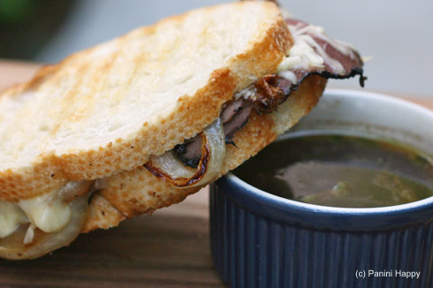 Post image for French Dip Panini