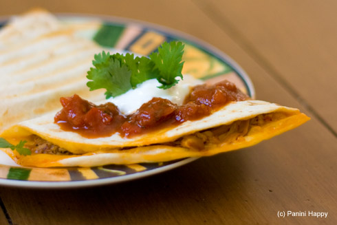 Post image for Chipotle Chicken (No-Flip!) Quesadilla