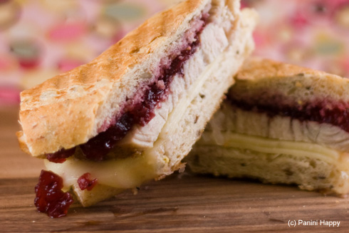 Turkey, Cranberry & Havarti Panini Recipe — Dishmaps