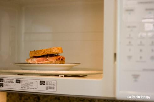 Panini...in the microwave?