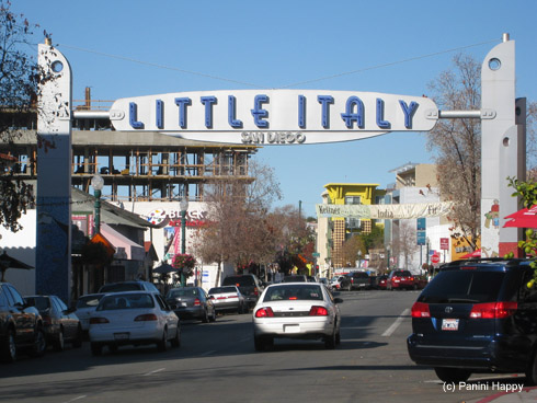 San Diego's Little Italy neighborhood