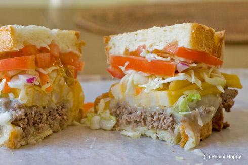 pittsburgh style cheese steak panini panini happy