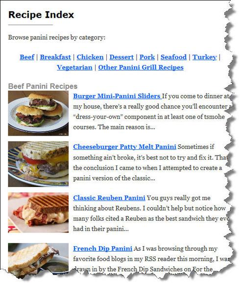 Improved panini happy recipe index panini happy improved panini happy recipe index forumfinder Images