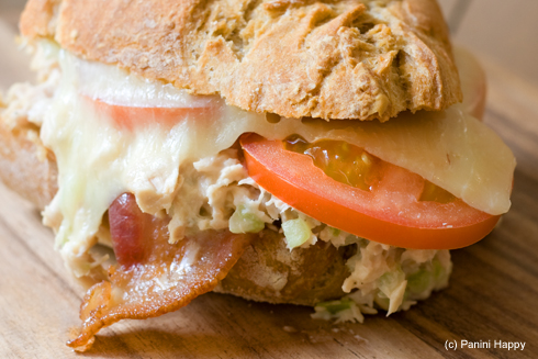 Bacon Tuna Melt Panini | Panini Happy®