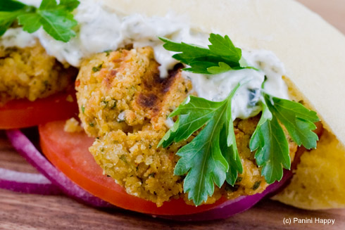 Grilled Chipotle Falafel