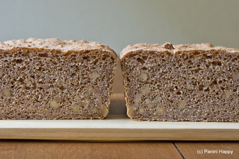 White Whole Wheat Walnut Bread from Cooking On the Side