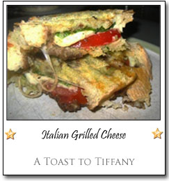 Italian Grilled Cheese by Tiffany at A Toast to Tiffany