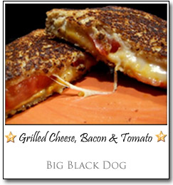 Grilled Cheese, Bacon & Tomato by Michelle at Big Black Dog