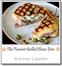 The Fanciest Grilled Cheese Ever by Mel at Bitchin' Camero