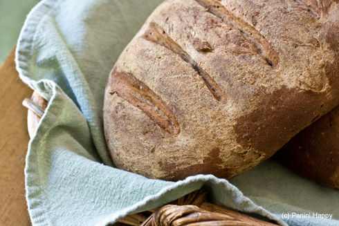 Homemade Dark Rye Bread