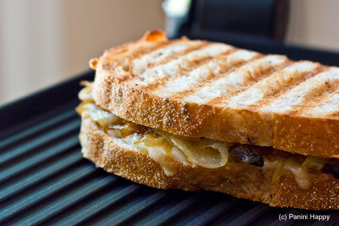 Post image for Gruyere with Caramelized Onions Panini