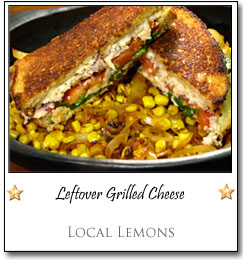 Leftover Grilled Cheese by Allison at Local Lemons