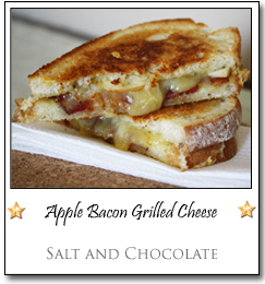 Apple Bacon Grilled Cheese by Katie at Salt and Chocolate