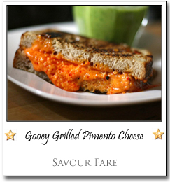 Gooey Grilled Pimento Cheese by Kate at Savour Fare