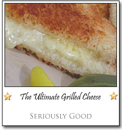 The Ultimate Grilled Cheese by Kevin at Seriously Good