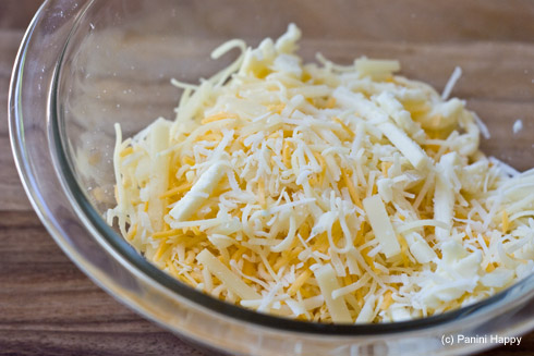 Shred the odds and ends in your cheese drawer for a flavorful combo