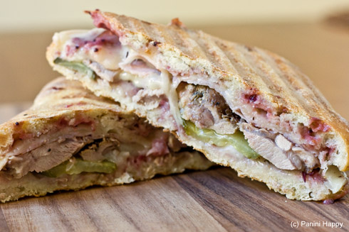 Post image for Leftover Turkey Panini: Turkey Cuban Panini