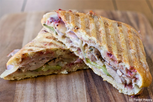 Turkey Cuban Panini