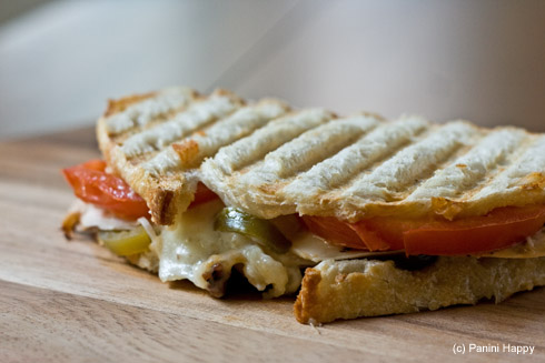 Turkey Jalapeno Melt Panini