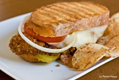 Post image for Super Bowl(TM) Panini: Breaded Pork Tenderloin