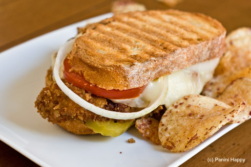 Breaded pork fritters recipe