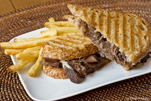 Post image for Braised Short Rib Panini