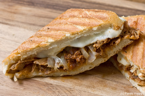 Post image for Pulled BBQ Chicken Panini