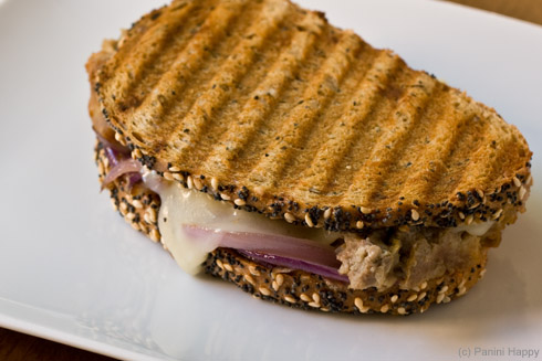 Meat Loaf Patty Melt Panini