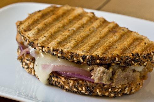 Post image for Meat Loaf Patty Melt Panini