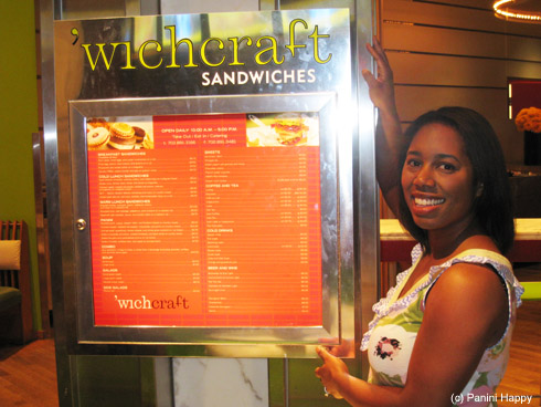 While in Vegas, we made a pilgrimage to 'wichcraft!