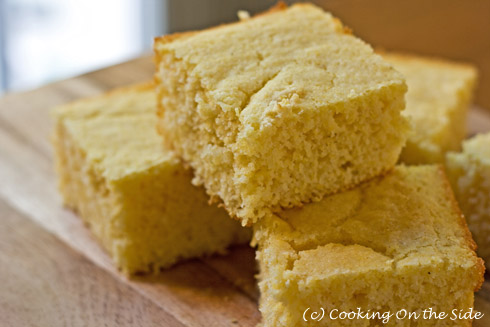 See the Cornbread recipe on my other blog, Cooking On the Side