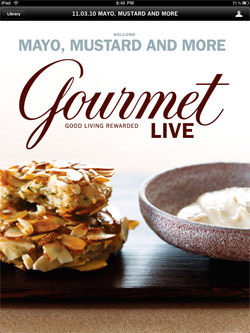 Download Gourmet Live for free on iTunes