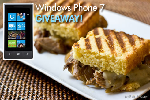 Post image for Pulled Pork Cornbread Panini + WIN a Windows Phone 7!