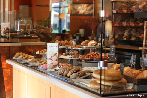 They tempt you with a slew of pastries right as you enter the door!