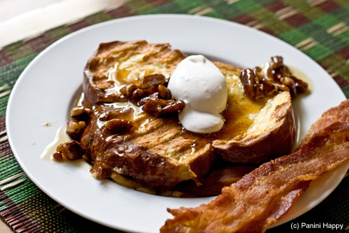Post image for Banana-Stuffed French Toast (on the Panini Grill)