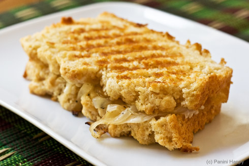 Recipe: Grilled Beer & Cheese Panini | Panini Happy®