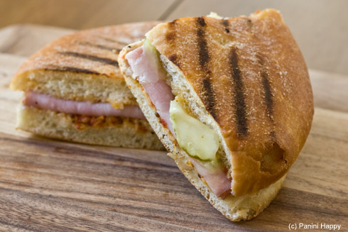 Cuban Chicken Panini at Panera Bread