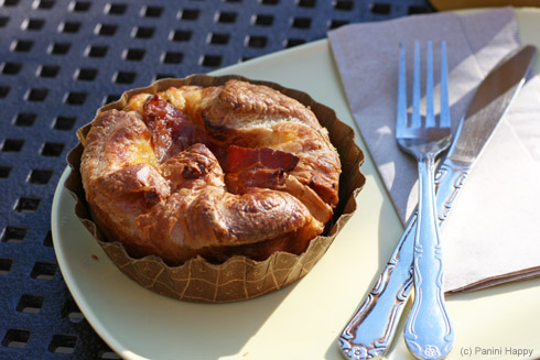 Spinach & Bacon Baked Egg Souffle at Panera Bread