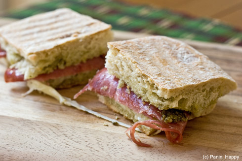 Post image for Sopressata Panini (The Best Sandwich I Never Had)