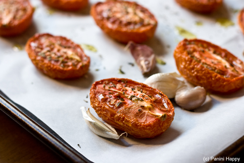 Post image for Condiment Time ~ Slow-Roasted Tomatoes