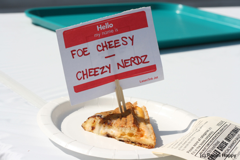 "The ""Foe Cheesy"", by the Cheezy Nerdz"