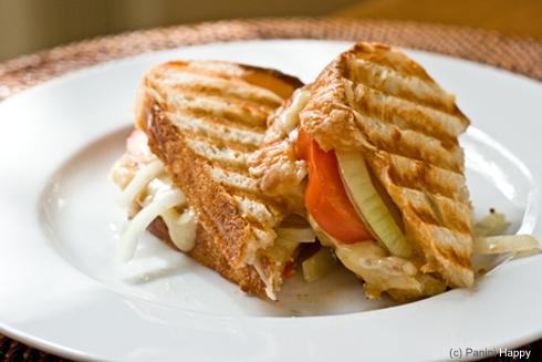 Grilled Gruyere on Asiago Cheese Bread