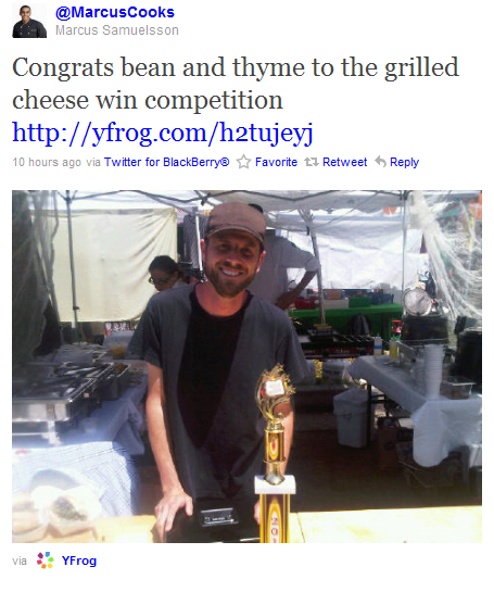 Congrats to Paul Osher of Bean & Thyme!