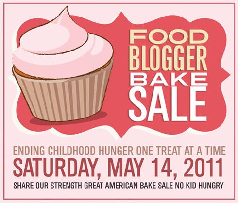 Post image for National Food Blogger Bake Sale ~ Sat, May 14!