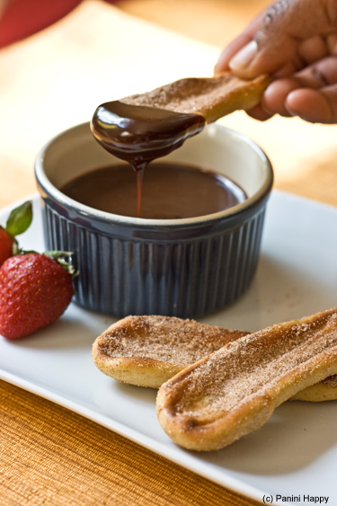 Post image for Grilled Churros with Nutella Sauce