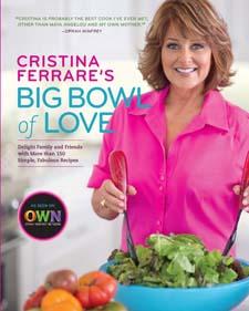 """Find """"Cristina Ferrare's Big Bowl of Love"""" on Amazon"""